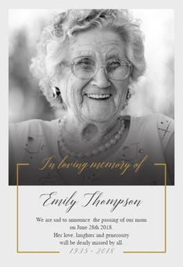 best-memorial-card